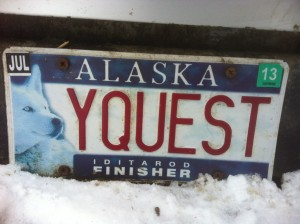gypsy musher license plate