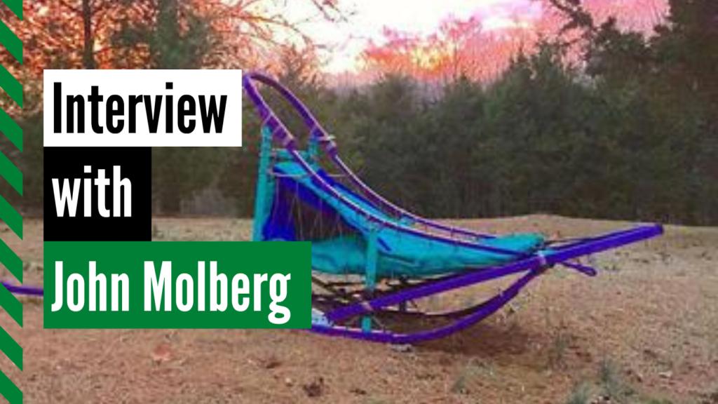 mushing Johnn Molburg